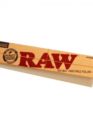 RAW Supernatural – 12-Inch Slim Hemp Rolling Papers – Single Pack